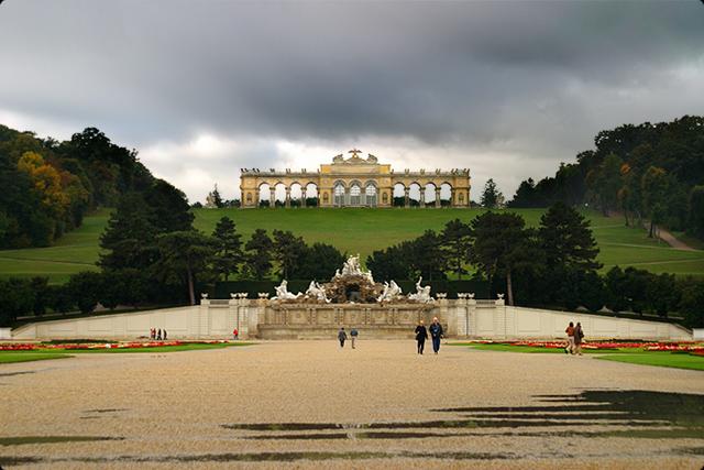Schloss Schonbrunn Garten